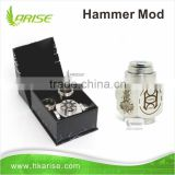 2014 Original wholesale price high quality best selling stainless steel hammer mod e cig