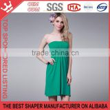 Hot Sale New Style strapless Sleeveless Slim Hip One-piece ladies Dress Y165