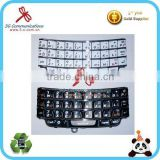 Original black and white mobile phone keypad for blackberry BB 9790 Russian kepad for blackberry 9790 keyboard in low price