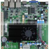The best sell whosale Mini-ITX industry Motherboards/mainboard with Intel ATOM processor, 4G ram