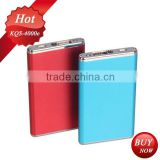 ultra-thin 4000mAh power bank charge laptop battery without charger