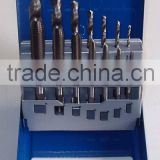 14PC ALLOY TOOL STEEL TAP WITH HSS DRILL
