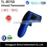Newest Gun Shape Digital Laser IR industrial Non-Contact Infrared Thermometer -50~750C (TL-IR750C)