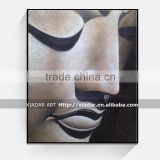 SHU96 Wall art decor buddha face oil painting on canvas many good design