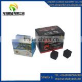 Hookah charcoal factory small packing (500g/box ,200g/box) natural material coconut flat cube ccoal