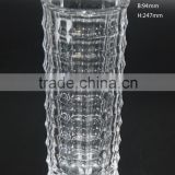 Wedding family decoration clear glass vase
