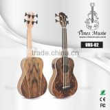 Manufacturer cheap price 4 string electric bass ukulele guitar