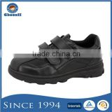 Guangzhou Customized Boys Microfiber Leather No Brand Name Sport School Shoes Without Lace