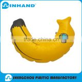 Yellow inflatable banana model/ pvc banana ballon for advertising