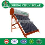 Non-Pressure Vacuum Tube Solar Water Heater with CE certificate