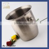 Wholesale champagne led ice bucket/ cocktail bar tool set