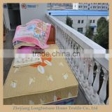 100%polyester Manufactory wholesale cartoon flannel&sherpa baby toys yiwu blanket factory