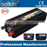Doxin 12V 24V 48V dc to ac 110V 220V off grid 2000W modified sine wave power inverter with charger