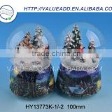 Best price XMAS resin life size snow globe clear inflatable dome for live show fashion designed