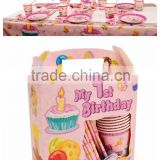 Birthday themes gift Six-piece Kids birthday party decorations-wholesale birthday party supplies in china