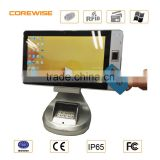 Windows8 / 10 OS IP65 FBI fingerprint sensor Intel I5 CPU 4GB memory cheap rugged tablet pc
