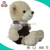 New Custom Big Stuffed Plush Teddy Bear Toy With Clothes