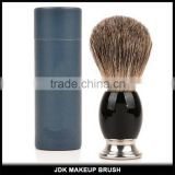 High quality Badger hair beard brush Acrylic holder Shaving brushes kit OEM Men gift set