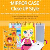Mirror Case Close Up Style Card Storage Hand Mirror Practical Multifunctional Various Design