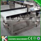 Used for Carpet, food, toys, shoes, clothes conveyor belt precious needle metal detector