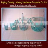 Storage Baskets Iron Metal Rolling Wire Egg Decorative Baskets Wholesale Exporter China Supplier
