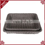 Mannufacturer china supply basket food display units for bakery storage