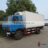 170hp 4*2 DONGFENG 10ton Refrigeration Box Truck