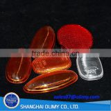 Olimy led plastic lamp bulb cover by injection moulding