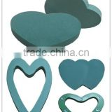 Phenolic resin fresh floral foam with brick, round, heart shaped for fresh flower & small artificaial flower