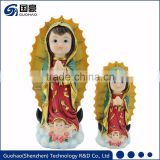Custom religious decor blessed mother Guadalupe virgin mary statues