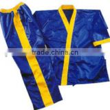 uniform in satin. In medium weight satin, jacket Belt on trousers red strip 8-cm elastic waist pant