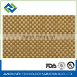PTFE Teflon coated Kevlar aramid fabric 1.35mm heat resisitant non stick