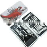 Nail Clipper Set Stainless Steel Nail Scissors Trimming Tweezer Makeup Cosmetic Beauty Nail Art Tool Manicure Set