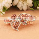 Latest Fashion Rhinestone Wig Shape Barrette Hair Clip