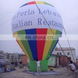 Sealed giant inlatable colorful helium balloon, decoration inflatable ballons,inflatable advertisement helium balloon