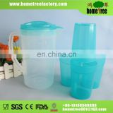 1.8L plastic pitcher wholesale with 4 cups