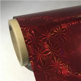 Premium Quality Festal Decoration BOPP Star Holographic Film