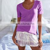 Women's High Quality Tee & Short Set
