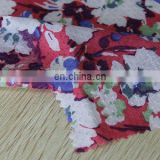 star flower high quality 100% print 60x60 rayon for girl's garment