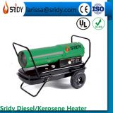 DH-50A space heater kerosene heating machine 50KW Industrial Diesel Paraffin Space Heater on Wheels 170600 BTU