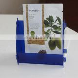 new products 2016 acrylic Magezine Holder book display shelf