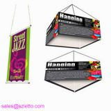 Hanging digital printing fabric polyester banner for advertising