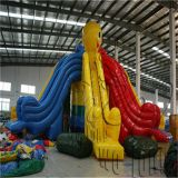 professional manufacturer commercial outdoor used cheap giant inflatable slide for adults on sale