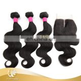 Hot selling real human body wave top 8a grade brazilian hair