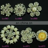 fashion design bulk crytal Decorative Buttons For Crafts