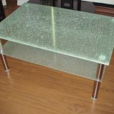 New Arrival Decorative Table Glass A Grade Ice Flower Laminated Glass