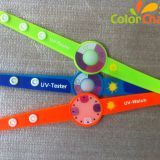 UV Sensitive Color Changing Silicone Bracelet (Color change under sunlight or UV light )