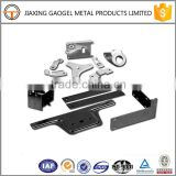 customize complicated part zinc plating garage door part metal fabrication punching products