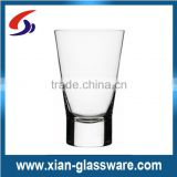 Promotional wholesale high quality clear mini wine glass cup/mini shot glass for home/wedding/bar