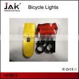 HF5213 front and rear light LED bike light set